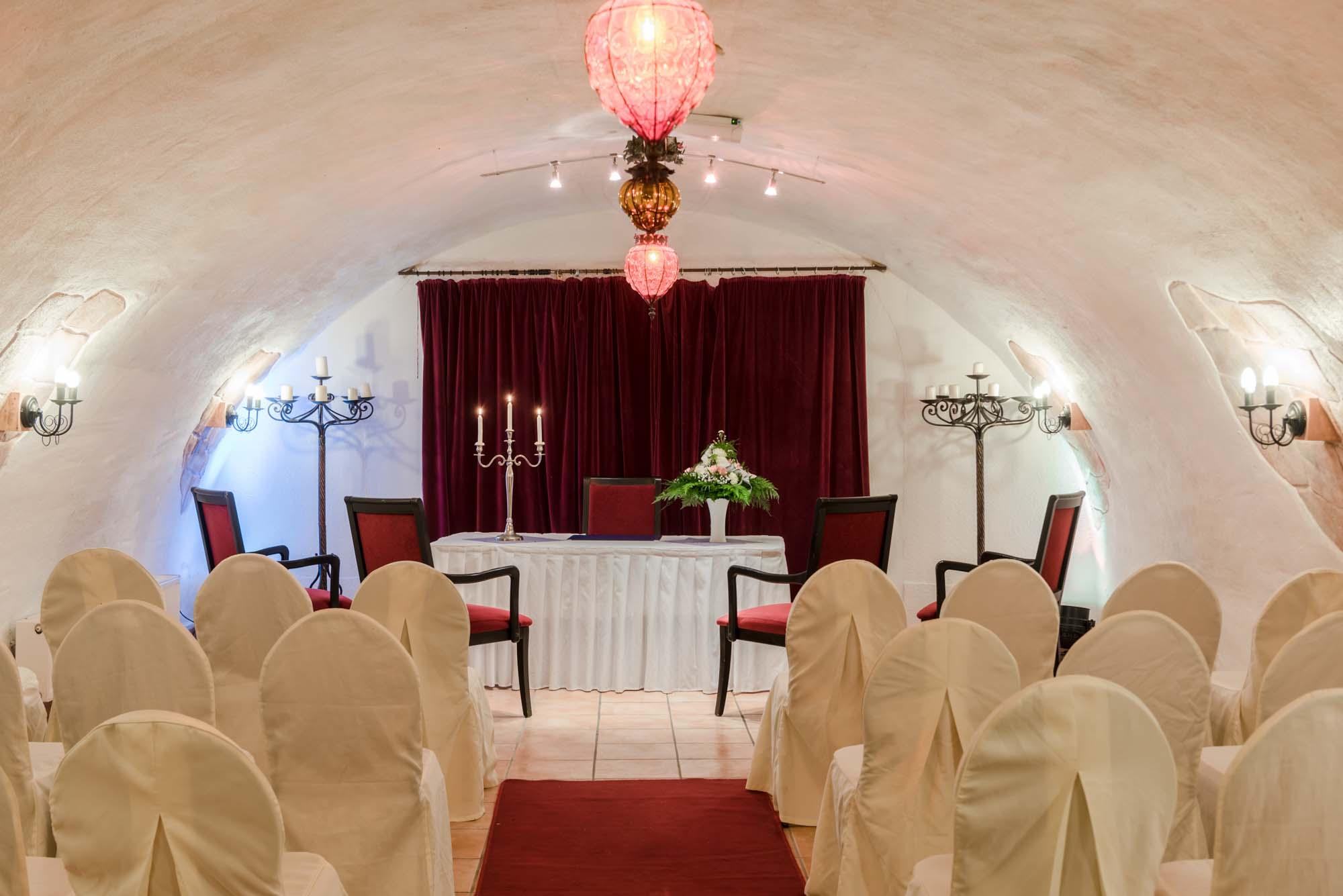 Hochzeitsgewolbe Burg Weisenau